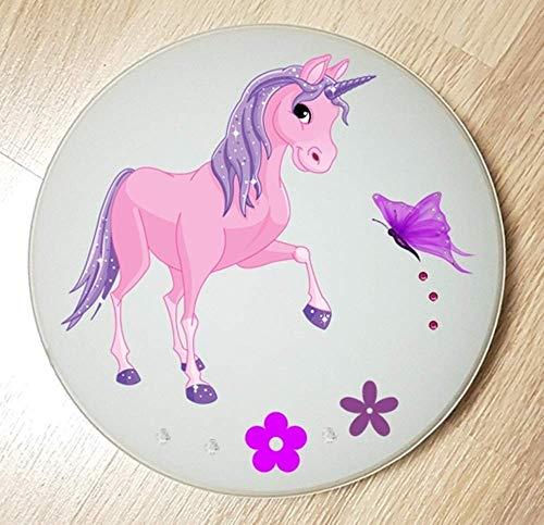 Deckenleuchte/Wandlampe * Einhorn Unicorn Pferd 3 * auch LED - mit/ohne Name