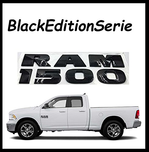 black-edition-srie-emblme-inscription-ram-1500dodge-ram-1500