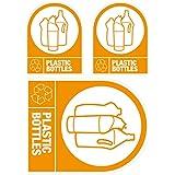Etiquetas autoadhesivas para reciclaje: Botellas de plástico