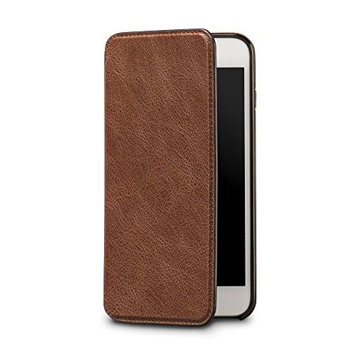 Sena Flaches Schutzetui im Brieftaschen-Design für Apple iPhone 7Plus Sena Iphone Flip Case