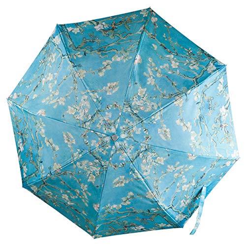 Official Van Gogh Museum Amsterdam - Umbrella Almond Blossom - Regenschirm - Material: 100{f23b757b64b91c3d380c42fd84de81c8a67bef07bd914be14348d235da27a8b4} Polyester - Mandelblüte von Vincent Van Gogh