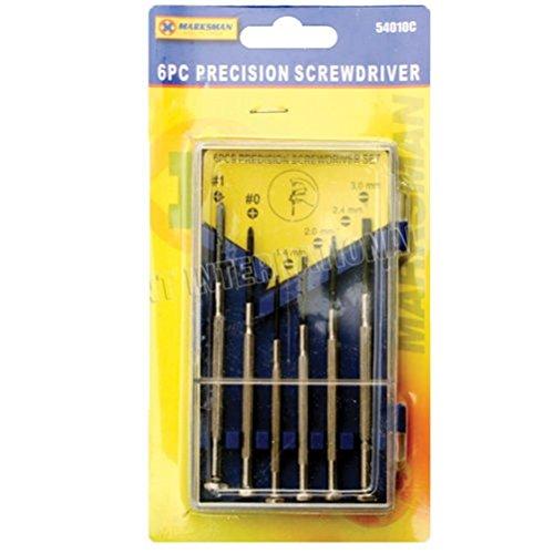 Fun Daisy 6PC set cacciaviti di precisione orologio mobile slot Phillips punte cacciavite
