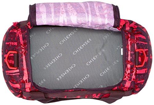 Chiemsee Unisex Sporttasche Matchbag X-Small Reisetasche/Sporttasche Zebra Flower
