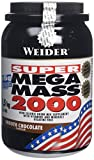 Weider Weight Gainer Mega Mass 2000 Complément alimentaire Marron 1500 g