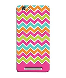 Fuson Designer Back Case Cover for Gionee Marathon M5 lite (Patterns Colorful Pinkish Ladies Girls Womens)