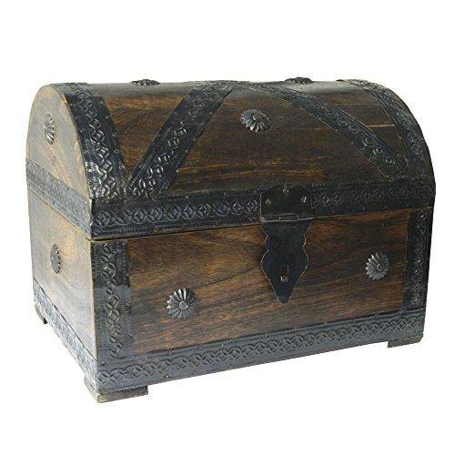 Cofre-del-tesoro-caja-de-madera-cofre-pirata-aspecto-antiguo-almacenamiento-28x21x21cm