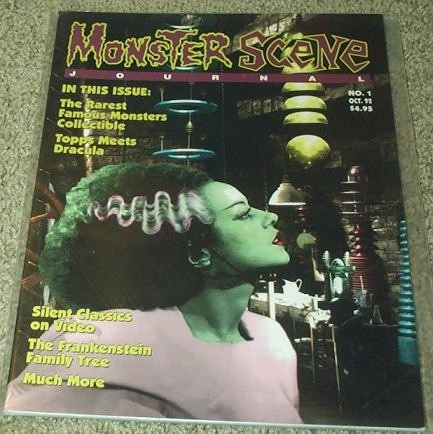 Monster Scene Journal Magazine #1 (The Rarest Famous Monsters Collectible) (Smith Journal Magazin)