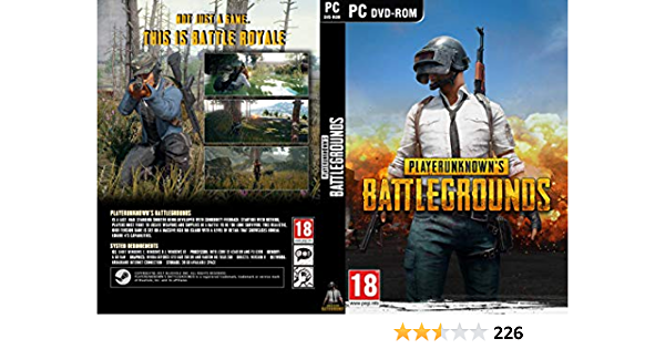 Buy Player Unknown S Battle Grounds Pubg Code In The Box Online At Low Prices In India Bluehole Studio Inc Pubg Corporation Video Games Amazon In