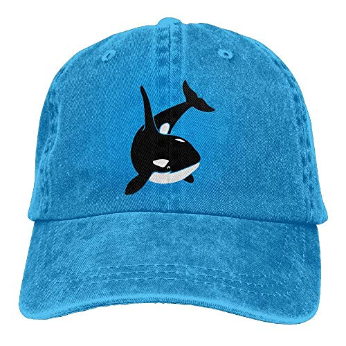 c45a51ee hulili Orca Whale Killer Whale Dolphin Blackfish Ocean Cowboy Sports Hat  Rear Cap Adjustable Cap