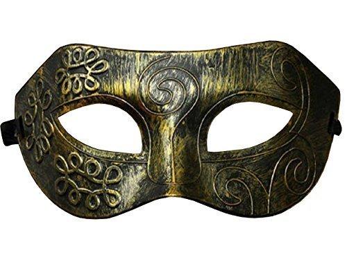 Inception Pro Infinite Maske - Antik Bronze Farbe - Karneval - Halloween - Venetian - Mann - Frau - Unisex - Metallic-Effekt - Flexibel - Esoterik