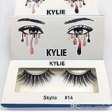kylie False Eyelashes (Black, beauty_007)