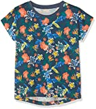NAME IT Mädchen NKFVIGGA CAPSL TOP H T-Shirt, Mehrfarbig (Insignia Blue), 122 (Herstellergröße: 122-128)