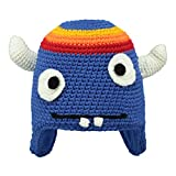 Barts Kinder Mütze Monster Beanie Capsicum (blau), Größe:Kindermützen Größe 50