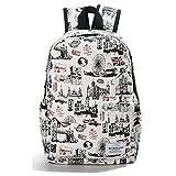 Die besten Roxy Schule Rucksäcke - Winnerbag Preppy Stil weiblichen Rucksäcke Rucksack Reisen Drucken Bewertungen