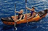 Bestway 65077 - Kayak Hinchable Bestway Hydro-Force Lite-Rapid X2 (321 x 88 cm) con 2 remos de 2 palas. Carga máxima de 160 kg