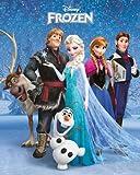 Frozen - Group - Disney - Die Eiskönigin - Völlig unverfroren Mini Poster Druck - Größe 40x50 cm