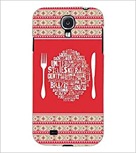 PrintDhaba Typography D-4149 Back Case Cover for SAMSUNG GALAXY MEGA 6.3 (Multi-Coloured)