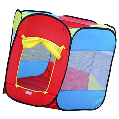 Segolike Kids Folding Pop Up Playhouse Tent Game House Play Tent Ball Pit Toddler Indoor Outdoor Garden Play Fun Toy