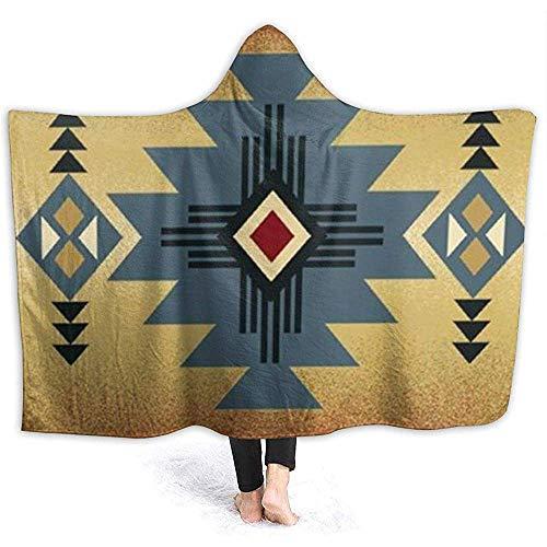 ZAlay Gebürtige Stammes- Inidna geometrische Wurfs-Decken Wickeln mit Kapuze Superweiche Bequeme große Tröster-tragbare mit Kapuze Decke EIN -