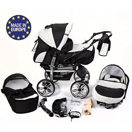 Travel Systems 3 in 1 Prams With Car Seat: Amazon.co.uk