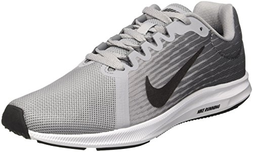 Nike Downshifter 8 Scarpe Running Donna, Grigio (Wolf Mtlc Dark Grey-Cool 006), 38 EU