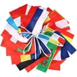 hysagtek 24las Naciones participantes banderines de la Euro fútbol caliente fiesta decoración