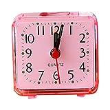 Place Petit lit réveil Transparent Compact Clock Voyage Mini Enfants étudiant Bureau Montre Sunlera