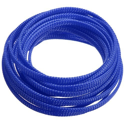 toogoor5m-4mm-expanding-braided-cable-wire-sheathing-sleeve-sleeving-harness-blue