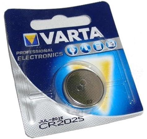 Varta Knopfzelle 3V CR2025 1er Blister Neu Auswahl Batterie 1-20 Stück Auswahl