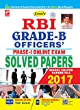 RBI GRADE 'B' OFFICERS' EXAM PHASE-I (OBJECTIVE TYPE) 2002-2017 SOLVED PAPERS-ENGLISH