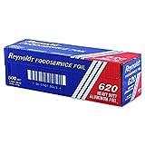 Reynolds Wrap 620Heavy Duty rollo de lámina de aluminio, 12'X 500m, Plata