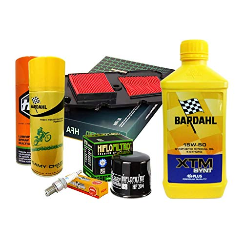 Bardahl XTM 15W50 Filtre à huile pour bougies en spray Transalp 700