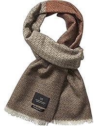 Scotch & Soda Herren Halstuch Gentleman's Scarf in Soft, Wool Blend Quality with Blanket Inspired Pattern