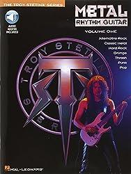 Metal Rhythm Guitar Volume 1 Tab Book/Cd (Troy Stetina)