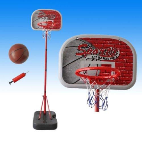 Kinder 3-7 Jahre Basketballständer Basketball Basketballkorb Mit Ball Luftpumpe
