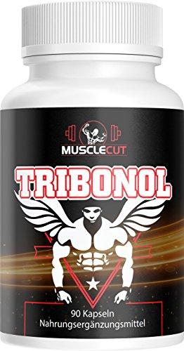 Tribonol - Hardcorde Anabolic Muscle, Muskelaufbau Extrem + Massiv + Booster mit L-Arginin | 90 Kapseln