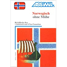 Norwegisch ohne Mühe (1 livre + coffret de 4 cassettes) (en allemand)