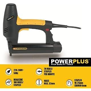 PowerPlus POWX138 Elektrischer Kombi-Tacker