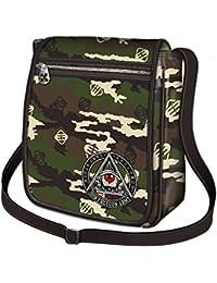 Freegun–La marque Streetwear–Freegun–iPad Petit sac à bandoulière–Camouflage & Americana