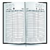 Ingraf 612544 - Libro de reservas con 2 días/página, en castellano, 22 x 31 cm