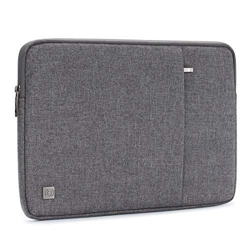 "DOMISO 11.6"" Laptop Sleeve vertikalen Stil Wasserabweisend Laptop Sleeve Case Bag Hülle Schutzhülle Notebook Tasche Schutzabdeckung für 11-11.6 Zoll MacBook Air, Ultrabook Netbook Tablet (grau)"