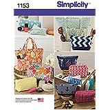 Simplicity patrones us1153os accesorios bolsas, Os (un tamaño)