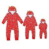 Pigiama Pigiama Natale Pagliaccetto per la famiglia Babbo Natale per bambini Vestiti di Natale Set completo di tuta Dad L