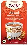 Yogi Tea Bio Abend Rooibos Vanille Teemischung, 30,6 g