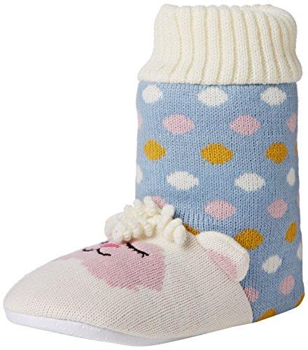 Größe Size Mehrfarbig One Hausschuhe mehrfarbig Knitted Home Damen Lamb Mehrfarbig Aroma qFwU06zw