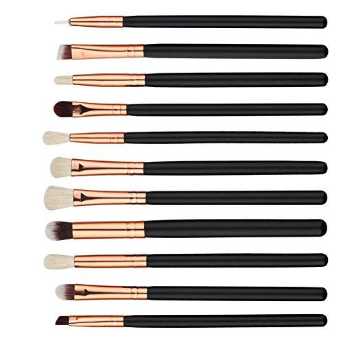 JIE 12pcs Eye Shadow Makeup Brush Set