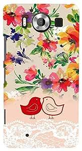 PrintVisa Girly Cute Design Case Cover for Nokia Lumia 950