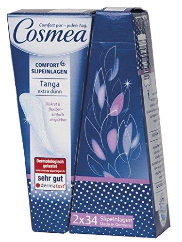 Cosmea Slipeinlagen, Tanga - extra dünn, 7er Pack (7 x 68 Stück)