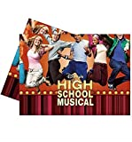 High School Musical ~ Birthday Party Tableware & Decorations ~ Plastic Table Cover HSM1