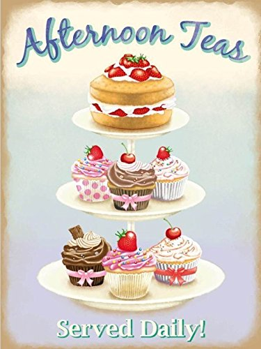 afternoon-teas-sign-cake-stand-food-sponge-cake-cupcakes-retro-vintage-advertising-sign-for-kitchen-